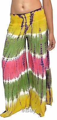 10 Tie Dye Harem Pants for Women Free Ship USA
