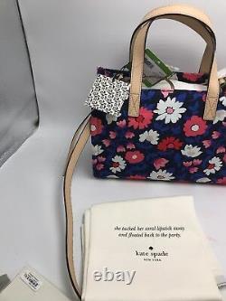 $178 Kate Spade Washington Square Sam Satchel Bright Flower Print Purse