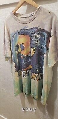 1995 Jerry Garcia Grateful Dead T-shirt Painting Sunglasses Rare Tie dye size XL