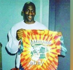 1996 Lithuania Olympic Basketball Grateful Dead Vintage Tie Dye Shirt, XL