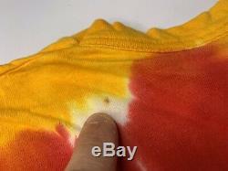 1996 Vintage Liquid Blue Grateful Dead Lithuania Basketball Tie Dye Shirt Sz XL