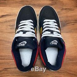2006 Nike SB Dunk Low Rainbow Tie Dye Dark Obsidian VTG Size 8.5 312490 441