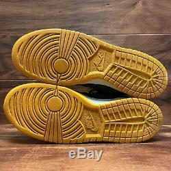 2008 Nike SB Dunk Mid Pro Tie Dye Obsidian / Varsity Red VTG Size 11 -314383 461