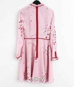 2018 Ted Baker $315 Heydii Peach Blossom Nece Tie Dress, Light Pink
