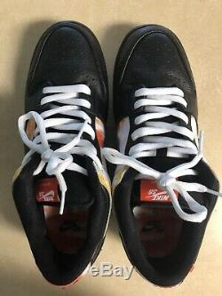 2019 Nike SB Dunk Low Pro QS RAYGUN TIE DYE BLACK 9.5