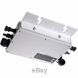 300W 600W 1200W Waterproof Grid Tie Inverter DC22-50V/AC110/220V Pure Sine Wave