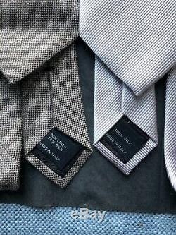 4 TOM FORD Ties Silk, Cashmere, Wool, and Linen Included Excellent Condition