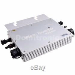 600W Waterproof Grid Tie Inverter DC22-50V Pure Sine Wave Inverter IP65 From USA