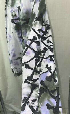 AMIRI Star Embroidered Oversized Tie-Dye Hoodie (Mike Amiri) Size medium