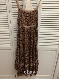 AVAS SALE Spell & The Gypsy Saphari Sundress Prairie Dress Vintage Sz S 2013