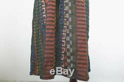 Ace & Jig Medium Surf Dress Fiesta Textile Sleeveless Multi-Color Black Pockets