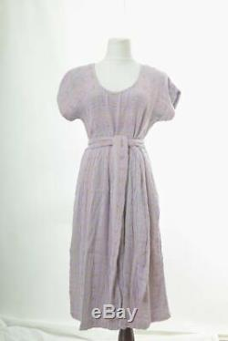 Ace & Jig Size Medium Luna Dress Daybreak Textile Multi-Color Purple