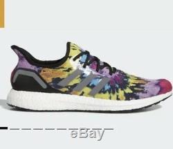 Adidas AM4ATL Speedfactory Super Bowl 2019 Multicolor Tie-Dye Mens size 6 BNIB