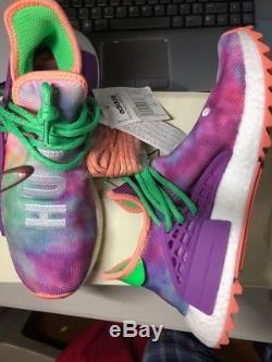 918ce1154ff3 Adidas Pw Hu Holi Nmd Mc Human Race Chalk Coral Tie Dye Ac7034 Pharrell Sz  8 Us