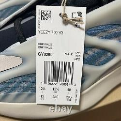 Adidas Yeezy 700 V3 Kyanite Mens Size 13 (GY0260) In Hand