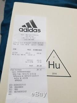 Adidas x Pharrell Williams HUMAN RACE CORAL Size 9.5 NMD Hu Holi Pink Tie Dye