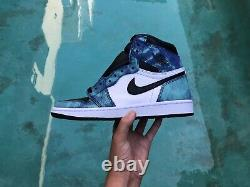 Air Jordan 1 Retro High Tie Dye Size 8With6.5 IN HAND