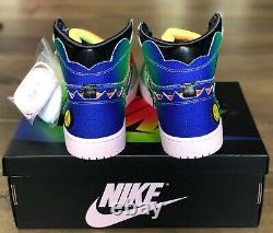 Air Jordan 1 Retro OG High x J Balvin Tie Dye Size 13 On hand