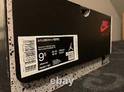 Air Jordan V Retro 5 Size 9.5 Ds 2020 Og Mj True White Fire Red Black