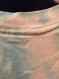 Allman Brothers Vintage Tour Shirt 1995 XL Tie Dye Wild Oats Free Shipping