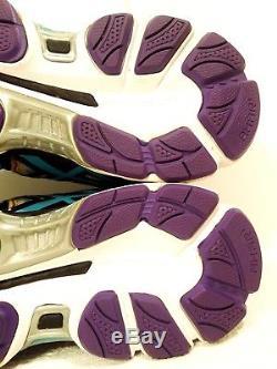 Asics Gel-nimbus 16 Women's Size 8, Black/ Multi-color /tie-dyed Swirl / Rare
