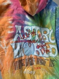 Astroworld Tour Hoodie Tie Dye Travis Scott (M)