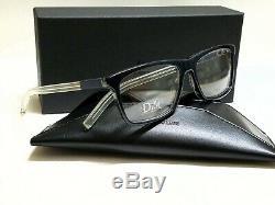 Authentic CHRISTIAN DIOR BLACK TIE 215 LMX Blue Havana/Crystal 54mm Eyeglasses