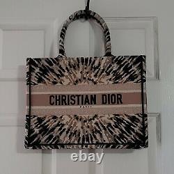 Authentic Dior Book Tote Bag Tie Dye