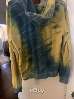 Aviator Nation Hoodie Sweatshirt Rainbow Tie Dye Size M Rainbow Rare