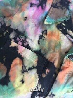 Big Bud Press Rainbow Magic Waters Jump Suit Size Large Tie Dye