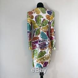 Black Tie Oleg Cassini Full Sequin Sheath Dress Size 6
