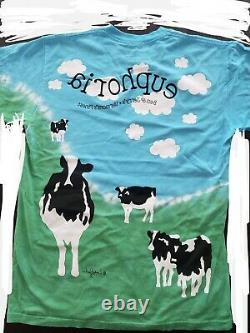 Brand New ben and jerrys Euphoria Shirt Tie Dye Chunky Dunky Size Small S Vtg