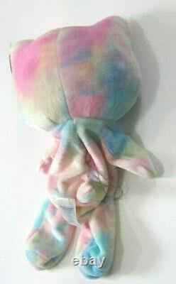 Build a Bear Hello Kitty Pastel Watercolor UNSTUFFED Teddy 18in Tie Dye BAB Doll