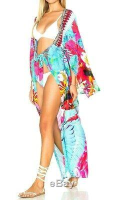Camilla Franks The Free Kimono Kaftan Cardi Cape Dress Coverup Jacket Large / 3