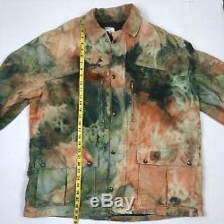 Carhartt Custom Tie Dye Blanket Lined Jacket Mens Large WIP