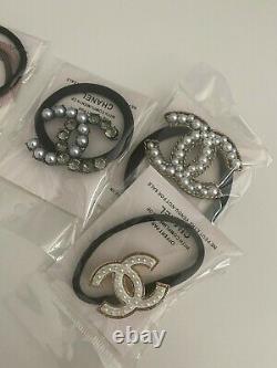 Chanel hair band hair tie set of 9 Bobby pin hair bands