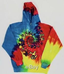 Chinatown Market Tie Dye Teddy Bear Hoodie Mens Size XL Complexcon Chicago
