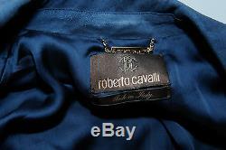 Crazy Cool, Nwt $4,645 Roberto Cavalli Suede Tie Dye Jacket
