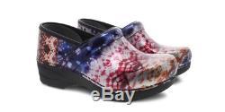 Dansko XP 2.0 Mettallic Tie Dye Patent Clog Women's US sizes 36-42/6-12 NEW