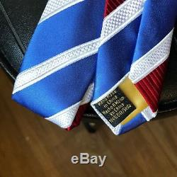 Donald Trump Signature Collection Silk Tie NEW with White Button Front Shirt