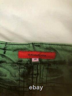 Eckhaus Latta Tie-Dye El Jeans, Size 28