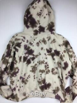 Eckhaus Latta Tie Dye Hoodie Sz L Streetwear Designer