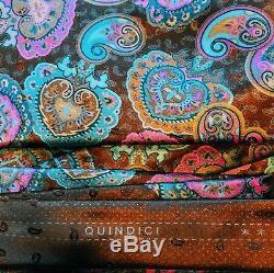 Ermenegildo Zegna Quindici Beautiful 100% Silk Tie Nwt