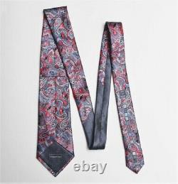 Ermenegildo Zegna'Quindici' Limited Edition No 154 Paisley Silk Tie