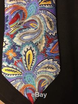 Ermenegildo Zegna Quindici Stunner Tie 100% Silk Tie