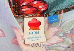 Farm Rio For Anthropologie Viera Wrap Maxi Dress Size M