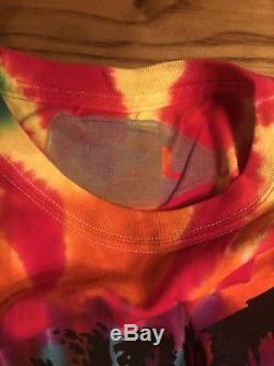 Flatbush Zombies Rainbow Tie Dye Tee Large