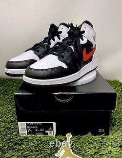 Free Overnight Shipping Nike Air Jordan 1 Mid GS Chile Size 7Y (554725-075)