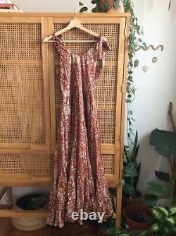 Free People Kikas Printed Midi Dress