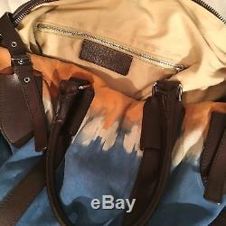 HTF Balenciaga Tie-Dye Suede Weekender Bag S/S 2008 Mens Runway Orig. $2500